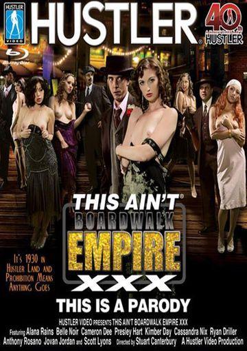 Hustler - this ain't boardwalk empire: a xxx parody (blu-ray)